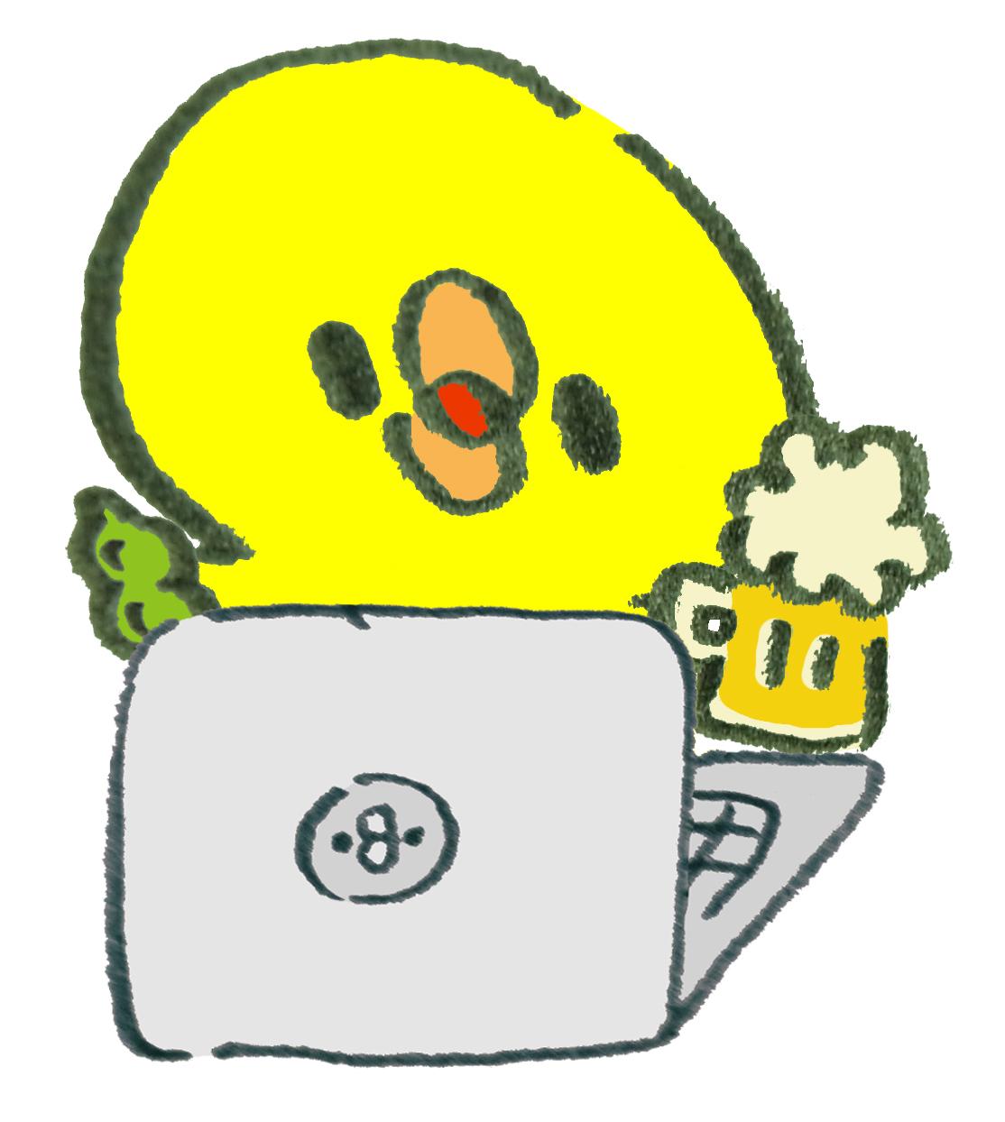 〈イベント〉オンライン飲み会は意外と楽しい♪