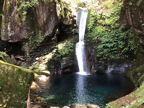 『おしらじの滝』に行ってきました!
